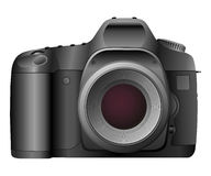 Vector Digital Camera. Professional Digital Camera - Vector - Eps8 Royalty Free Stock Photo