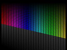 Vector digital equalizer Royalty Free Stock Photo