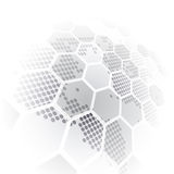 Vector digital global technology concept, abstract background. Innovation Royalty Free Illustration
