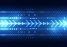 Vector digital speed technology, abstract background. Illustration Stock Photo