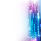 Vector digital speed technology, abstract background. Illustration innovation Royalty Free Stock Image