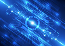 Vector digital speed technology, abstract background Stock Photos