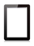 Vector digital tablet on white background stock illustration
