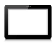 Vector digital tablet on white background royalty free illustration