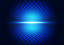 Vector digital technology concept, abstract background Royalty Free Stock Photos
