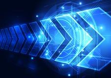 Vector digitale snelheidstechnologie, abstracte achtergrond vector illustratie