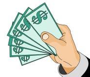 Vector - dinero Imagenes de archivo