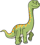 Vector Dinosaur Royalty Free Stock Photos