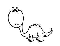 Vector dinosaur Stock Image