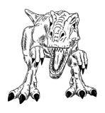 Vector - dinosaur royalty free illustration
