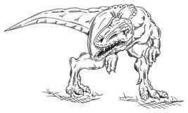 Vector - dinosaur Stock Image
