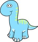 Vector Dinosaurus Stock Afbeeldingen