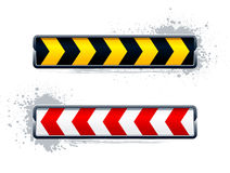 Vector direction arrow signs Stock Photos