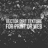 Vector Dirt Texture for Print or Web stock photography