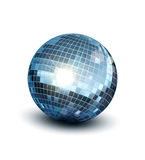 Vector disco ball. On a white background Royalty Free Stock Photo