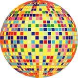 Vector disco ball stock images
