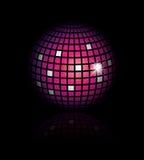 Vector disco globe Stock Photos