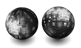 vector disco globes Royalty Free Stock Photo