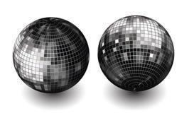 vector disco globes Royalty Free Stock Photo