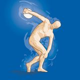 Vector Discobolus Stock Photos