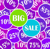 Vector discount big sale Stock Photography