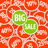 Vector discount sale background Royalty Free Stock Images