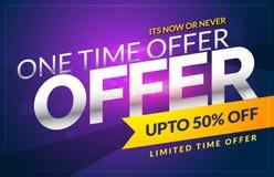 Vector discount sale voucher design template with offer details. Discount sale voucher design template with offer details vector royalty free illustration