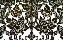Vector Diverse wervelende lotusbloem Stock Afbeelding