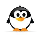 Vector divertido y dulce del pingüino Foto de archivo libre de regalías