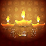 Vector diwali background. Stylish vector indian festival diwali background