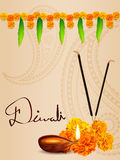 Vector diwali background Stock Photography