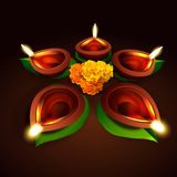 Vector diwali design Royalty Free Stock Photos