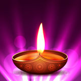 Vector diwali diya Royalty Free Stock Image