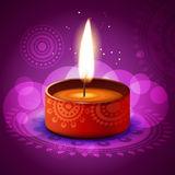 Vector diwali diya. Beautiful diwali festival diya on artistic background