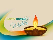 Vector diwali festival design stock illustration