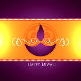 Vector diwali festival design Stock Photos
