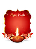 Vector diwali greeting Stock Photo