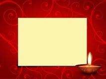 Vector diwali greeting Stock Photo