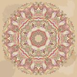 Vector Doily Round Lace Pattern. Circle Background Stock Photo