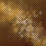 Vector dolden mosaic. Vector metallic background. This is file of EPS10 format Royalty Free Stock Image