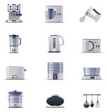 Vector domestic appliances set. Part 2 Royalty Free Stock Photography