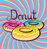 Vector Donut Stock Photography