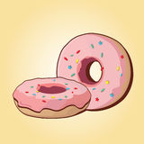 Vector donut Stock Photography