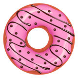 Vector donut Stock Images