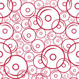 Vector donuts pattern Stock Images