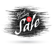 Vector doodle Black Friday discounts and sales banner. Royalty Free Stock Images