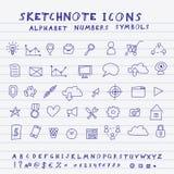 Vector Doodle Icons Stock Photos