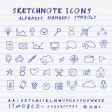 Vector Doodle Icons Stock Photos