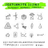 Vector Doodle Icons Stock Photo