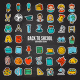 Vector Doodle Icons Universal Set Royalty Free Stock Photography